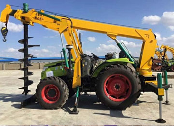 Pole Digging Machines For Constriction And Garden