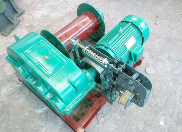 JM Series Mining Low Speed Electric Winch