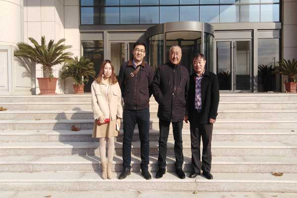 Warmly Welcome Businessmen From Kazakhstan To Visit Zhong Yun Intelligent Machinery (Yantai) Co., LTD
